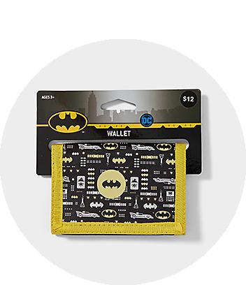Boys Wallet Batman Black
