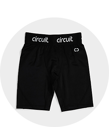 Boys Black Active Shorts