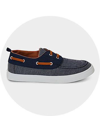 Boys Blue Boat Shoes