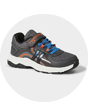 Boys Grey Sport Shoes
