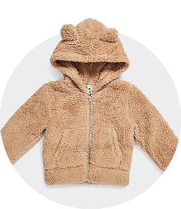 Brown Teddy Jacket