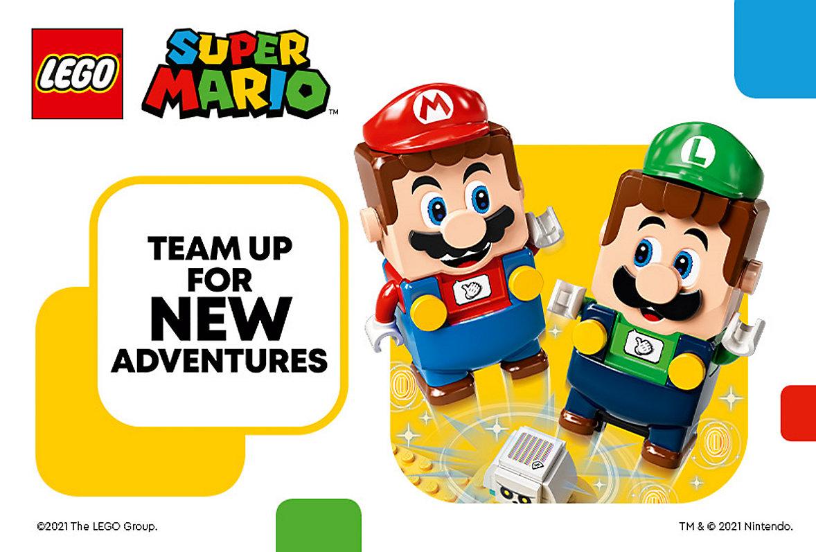 Introducing New Luigi Super Mario LEGO Starter Course
