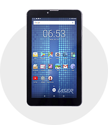 Laser tablets and accessories