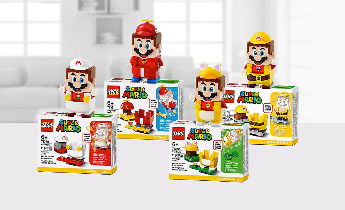 Lego Super Mario Power-up Packs