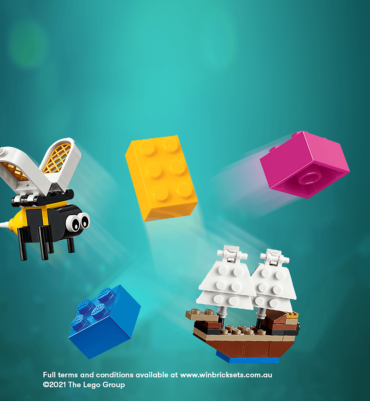 Win $3000 of LEGO Sets with LEGO Masters and Big W
