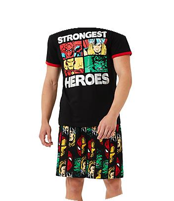 Shop Marvel Mens Clothing and Sleepwear