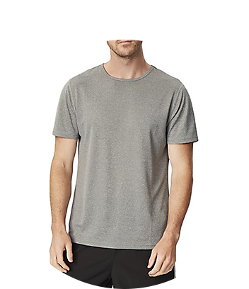 mens grey sports shirt