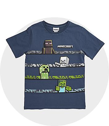 Minecraft Kids Clothing
