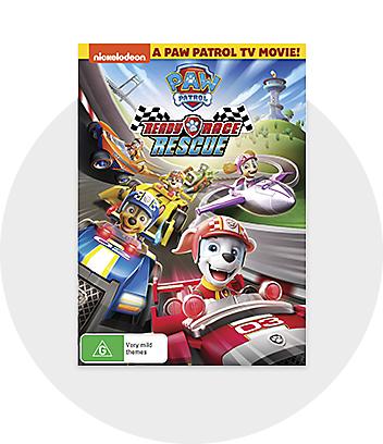 Paw Patrol DVD and Bluray