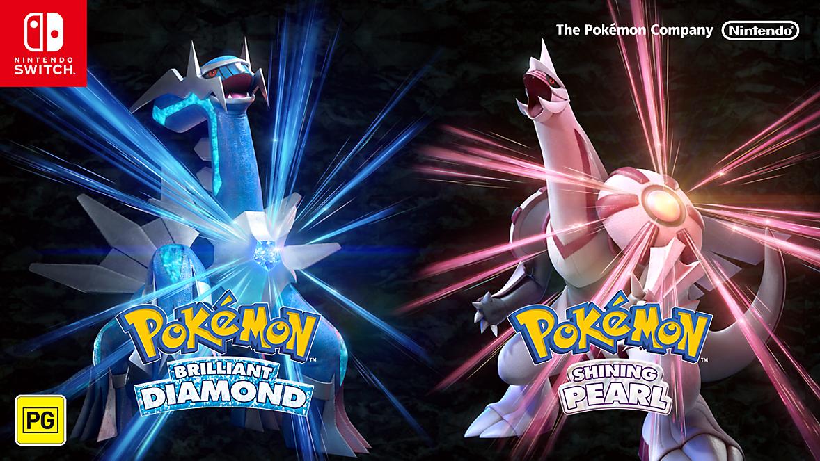 Pokemon Brilliant Diamond & Shining Pearl