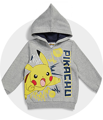 Shop Pokemon Kids Clothing and Accessories