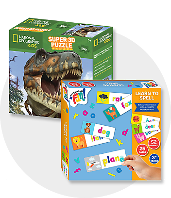 Shop Kids Puzzles for fun Home Schooling