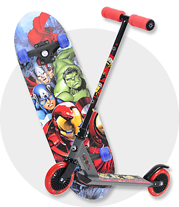 Shop scooters and skateboards for PE Home Schooling