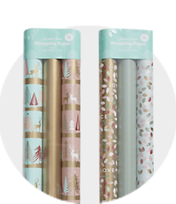 Shop Sorbet Christmas Wrapping Paper