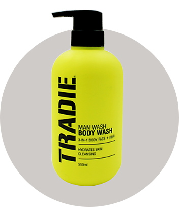 tradie beauty and skincare