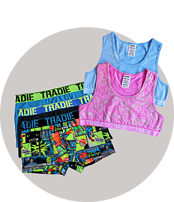 tradie kids underwear