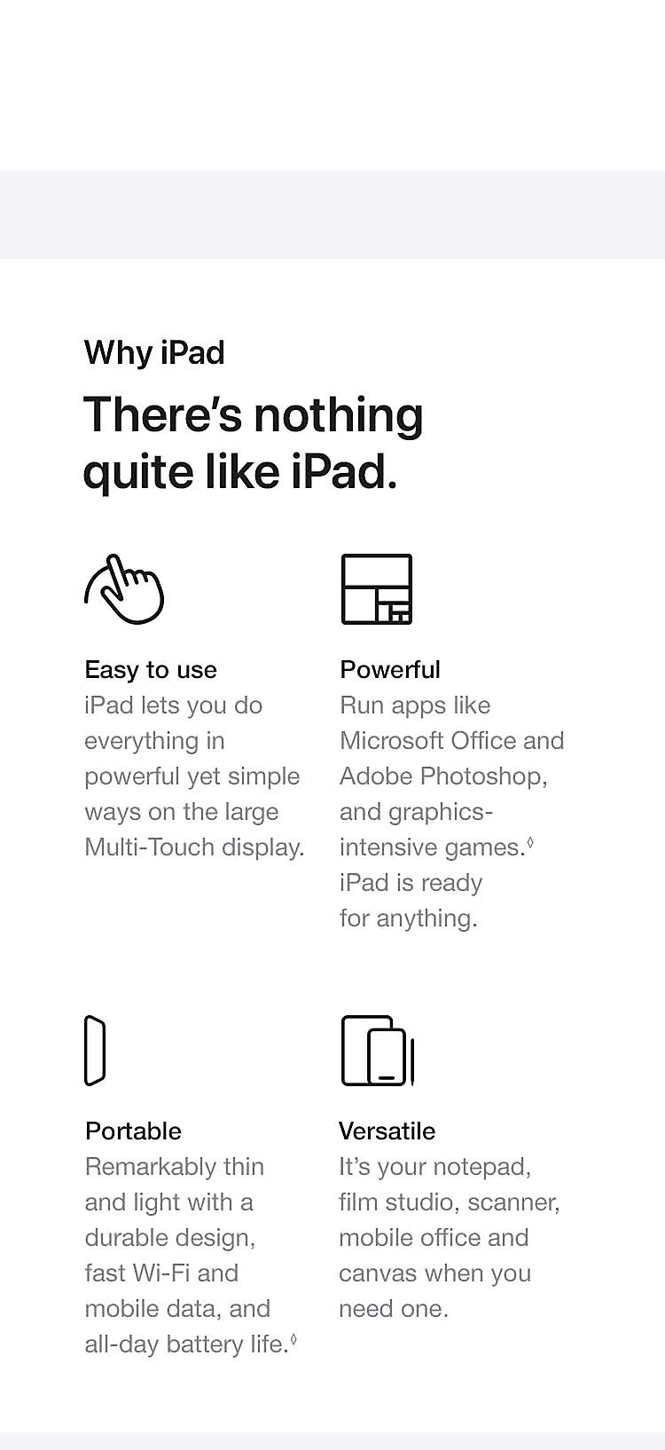 There's nothing quite like iPad.