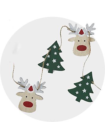 Christmas Garlands & Tinsel