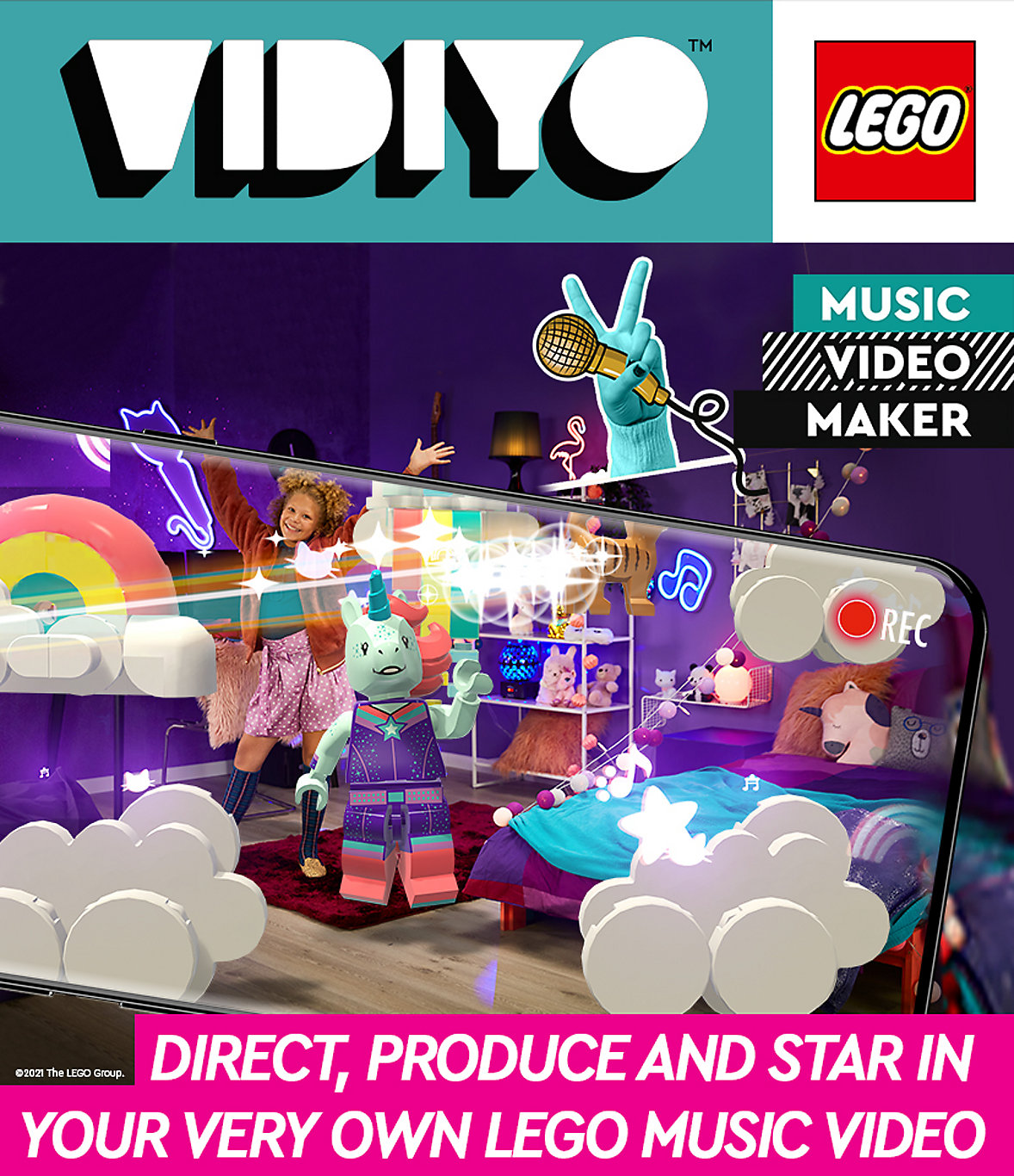 Shop LEGO Vidiyo to star in your very own music video