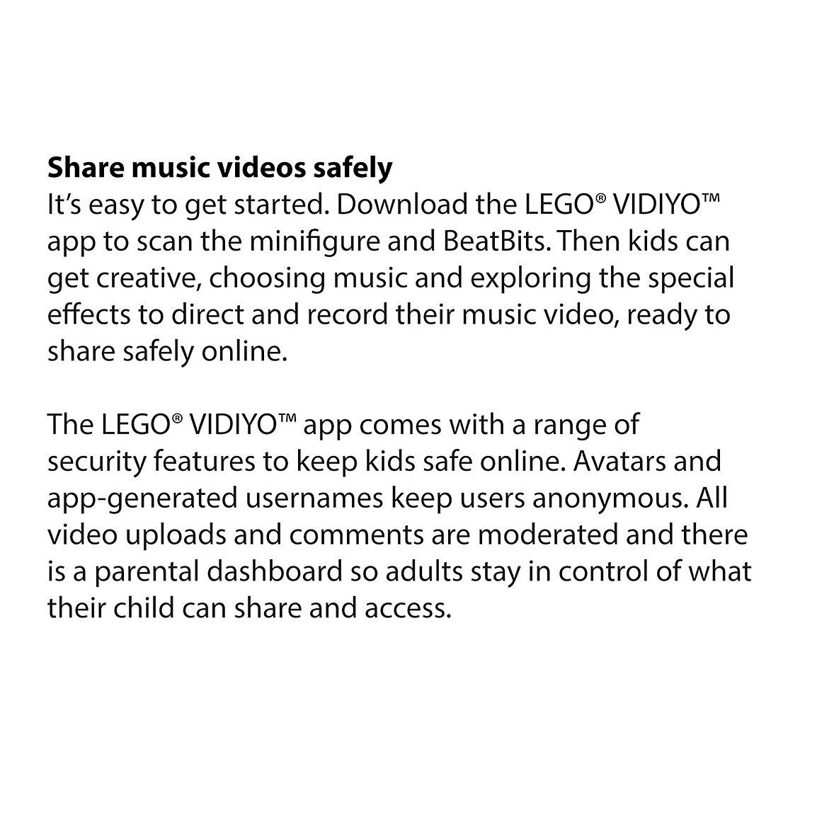 Lego Vidiyo Information