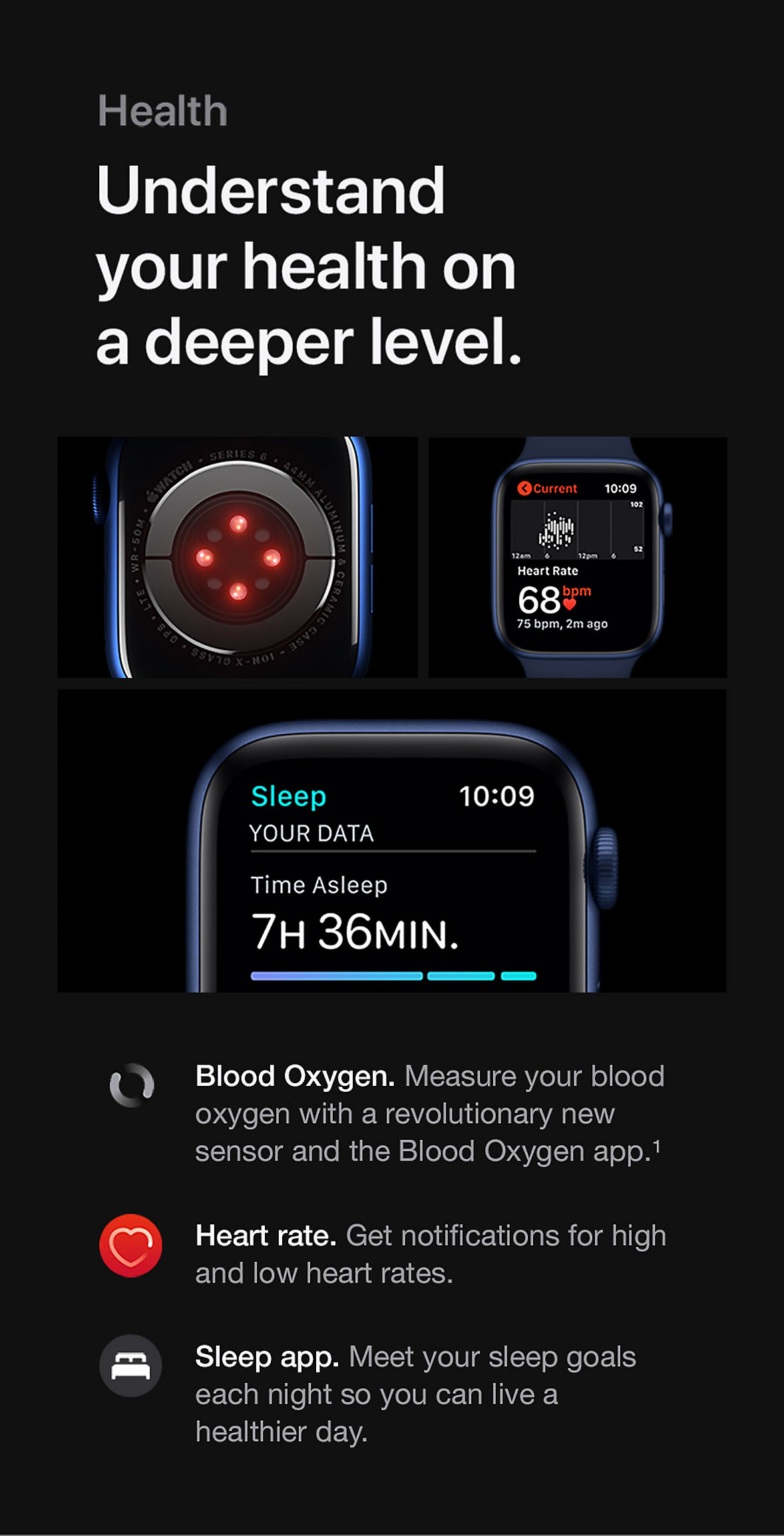Apple Watch Series 6 Health