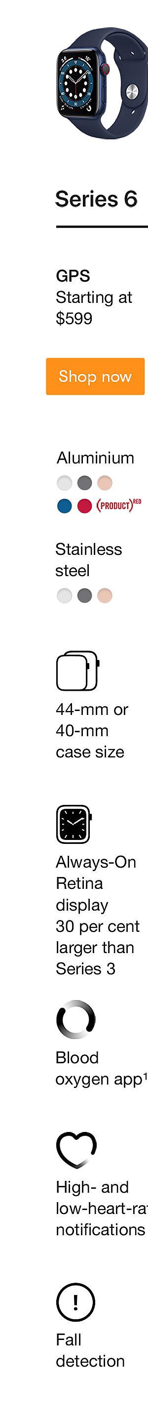Apple Watch Series 6 Shop Now