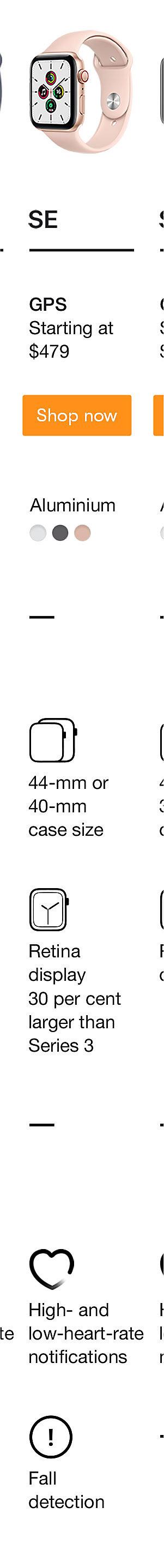 Apple Watch SE Shop Now