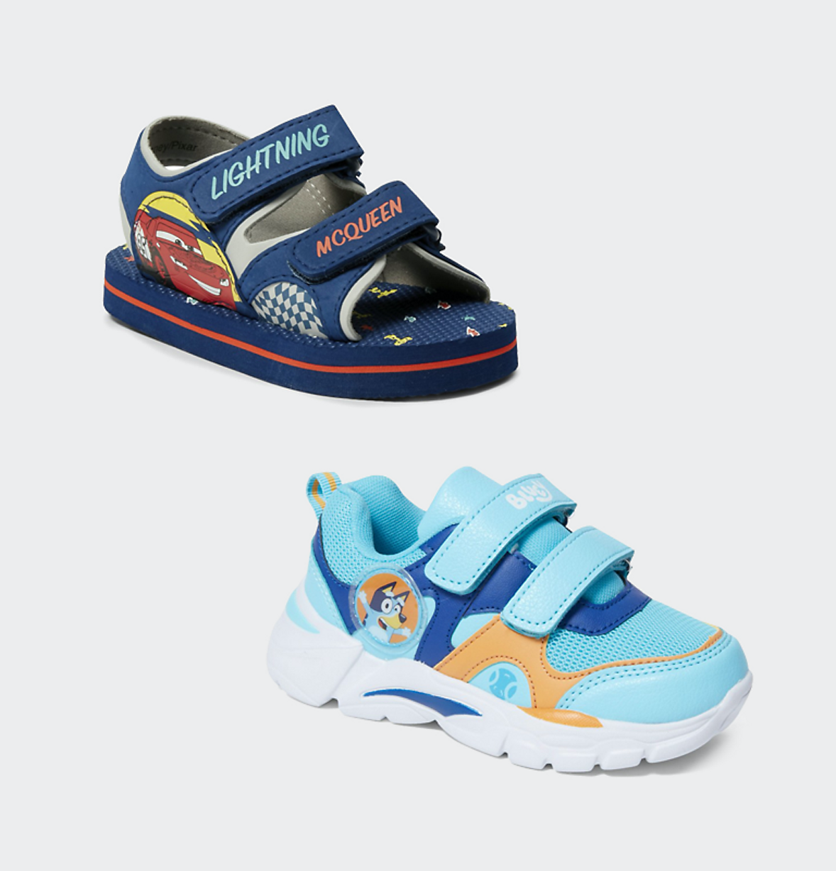 kids character boys shoes