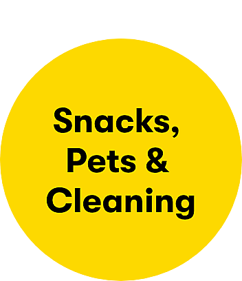 Shop clearance snacks pets and cleaning