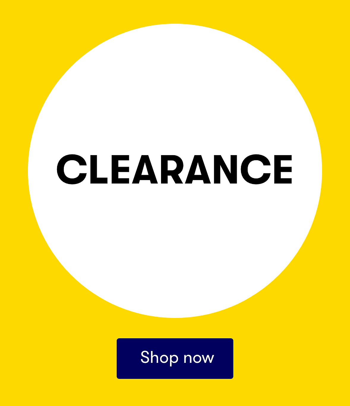 Clearance shop all