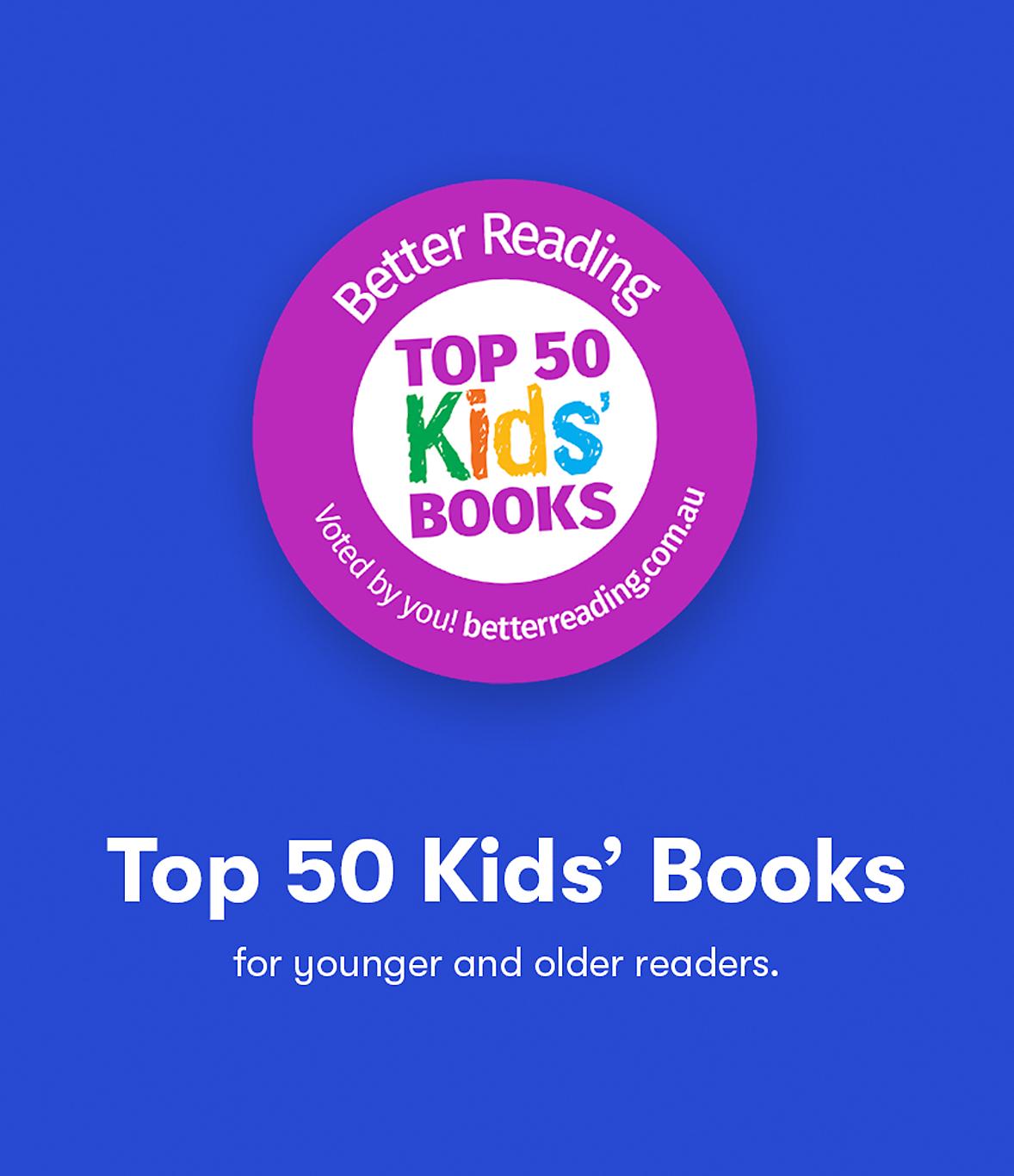Top 50 Kids' Books
