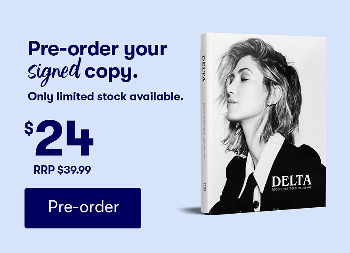 Delta Pre-Order Your signed copy