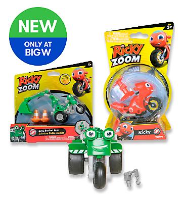 NEW Ricky Zoom Toys