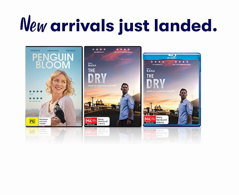 New dvds & blurays