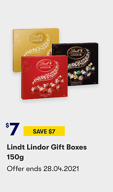 Save on Lindt Gift Boxes