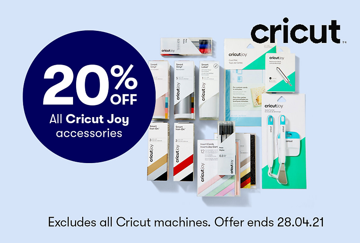 Save on Cricut Joy Accesssories