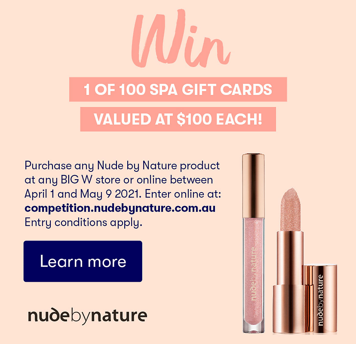 Nude by Nature Competition