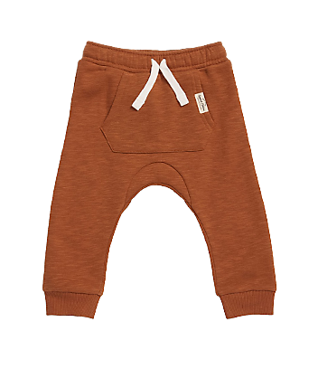 dymples brown baby track pants
