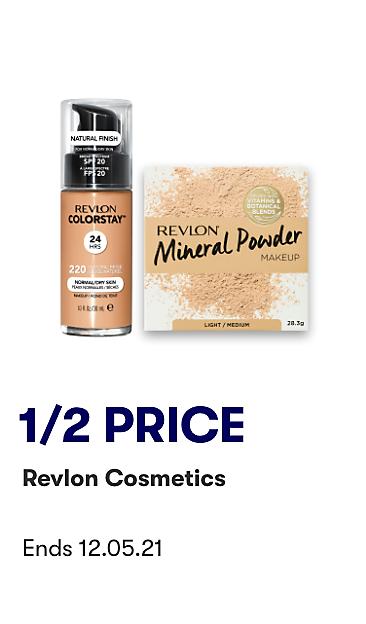 1/2 Price Revlon Cosmetics