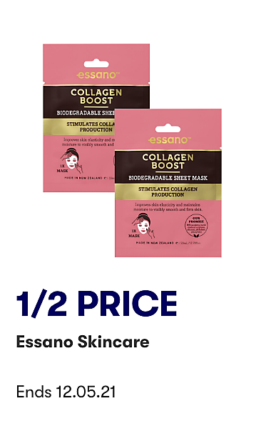 1/2 Price Essano Skincare