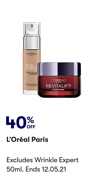 40% off Loreal Paris