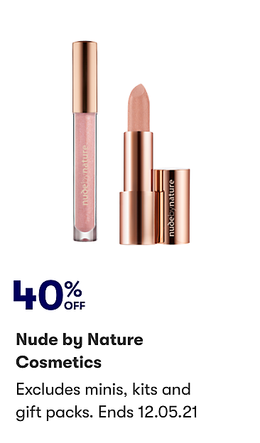 40% off Nude by Nature Cosmetics