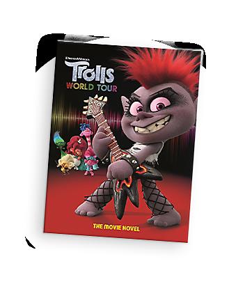DreamWorks Trolls Books