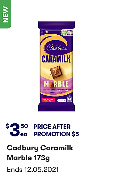 Cadbury Caramilk Marble