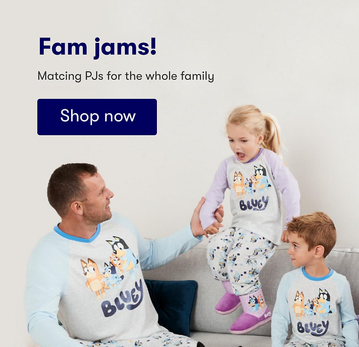 Fam jams bluey collection