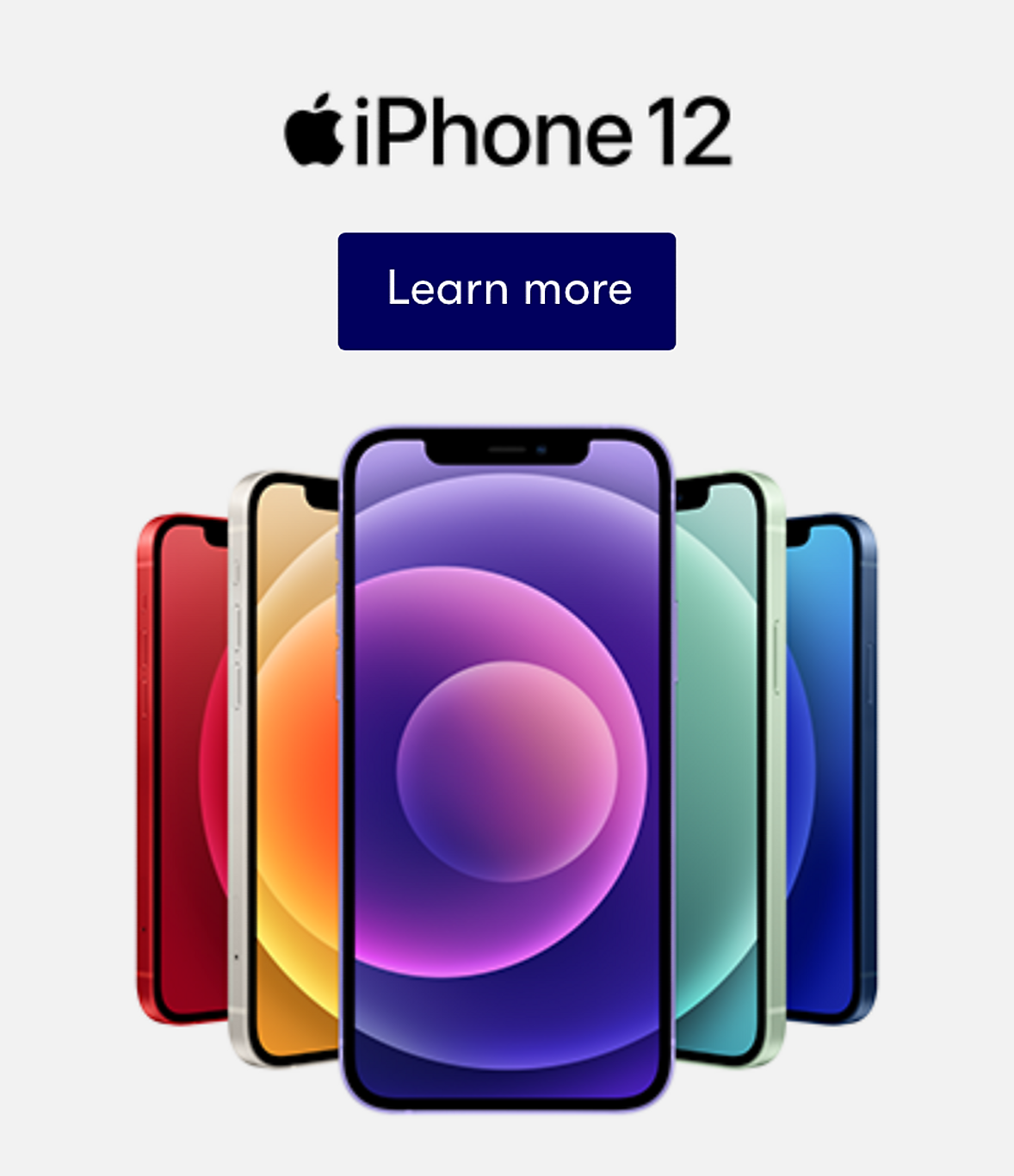 Learn More Apple iPhone 12