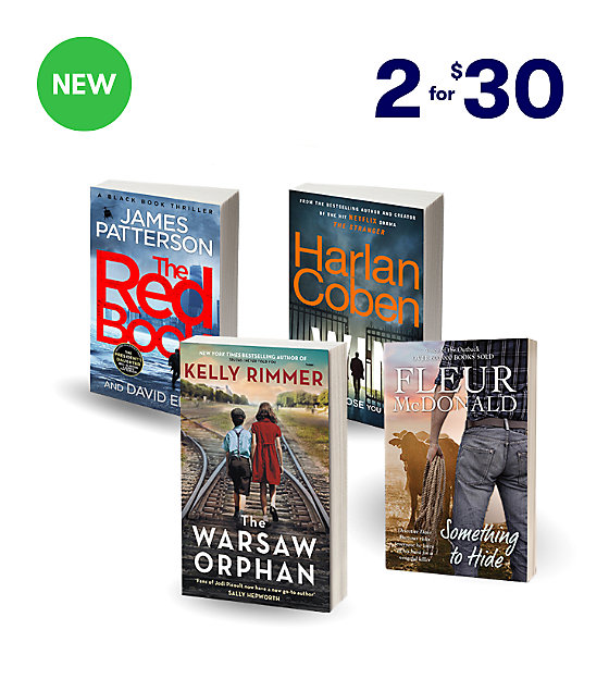 2 for $30 new release fiction
