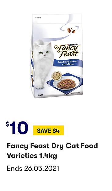 Fancy Feasts Dry Cat Food Varieities 1.4kg