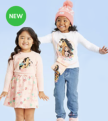 Spirit Untamed Kids Clothing