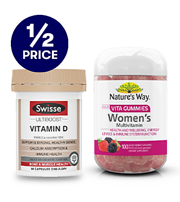 Save on select Vitamins